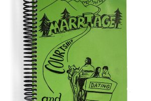Marriage Courtship Dating book