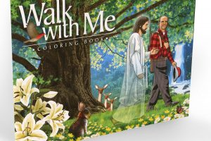 Walk with Me - Coloring Book