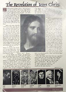 The Revelation of Jesus Christ Poster
